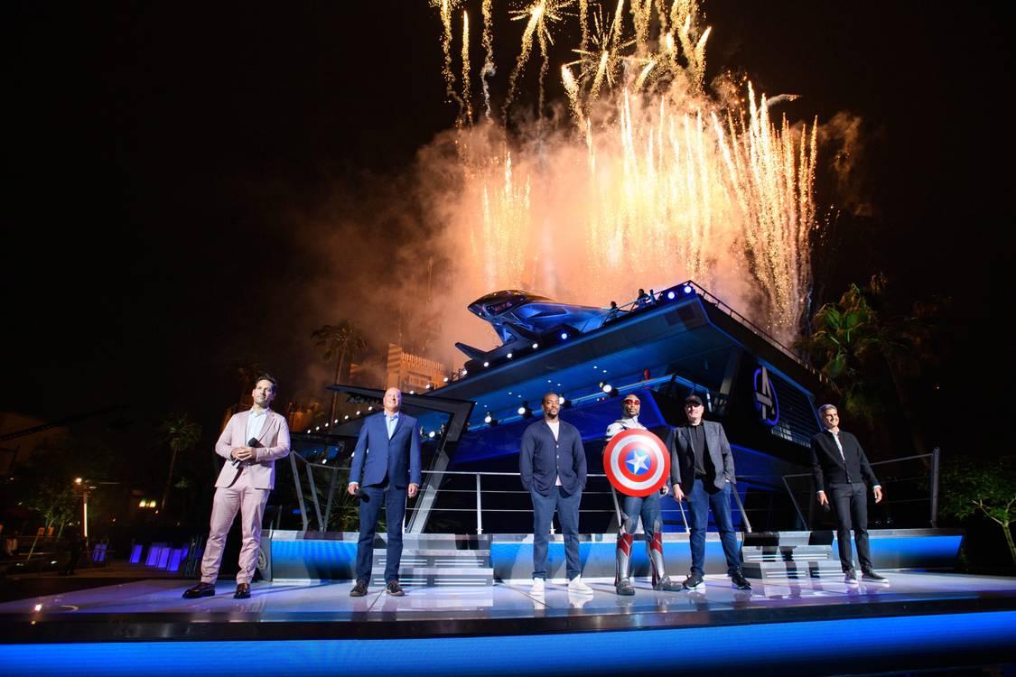 Avengers Campus: Confira as imagens oficiais da cerimônia de dedicação
